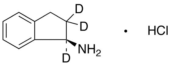 (R)-1-Aminoindane-d<sub>3</sub> HCl