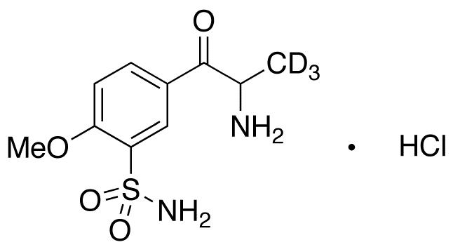 2-Amino-1-(4'-methoxy-3'-sulfonamidophenyl)-2-propanone-d<sub>3</sub> hydrochloride