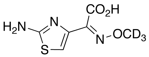 2-Amino-α-(methoxyimino)-4-thiazoleacetic Acid-d<sub>3</sub>