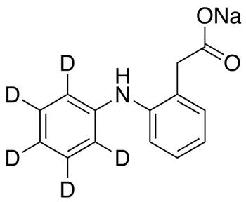 2-(Aminophenyl-d<sub>5</sub>)-phenylacetic Acid Sodium Salt