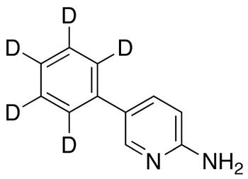 2-Amino-5-phenylpyridine-d<sub>5</sub>