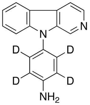 9-(4&#146;-Aminophenyl)-9H-pyrido[3,4-&#946;]indole-d<sub>4</sub>