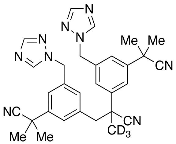 Anastrozole-d<sub>3</sub> Dimer Impurity