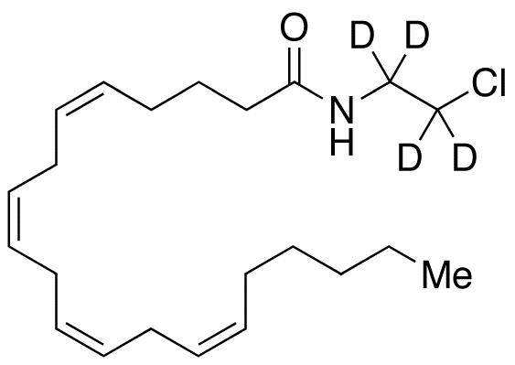 Arachidonyl-2-(chloroethyl-d<sub>4</sub>)amide