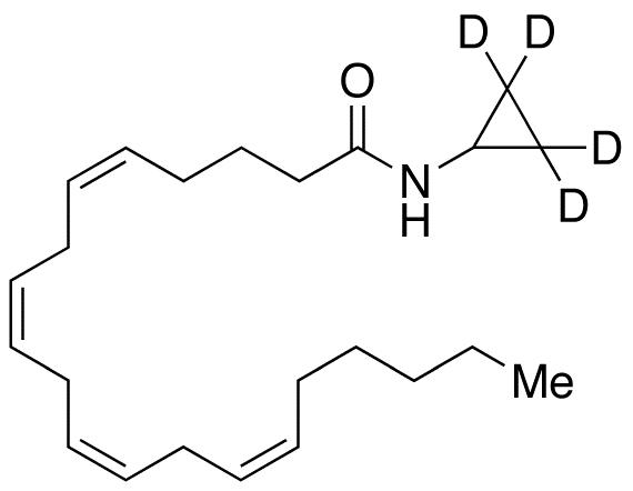 Arachidonyl(cyclopropyl-d<sub>4</sub>)amide