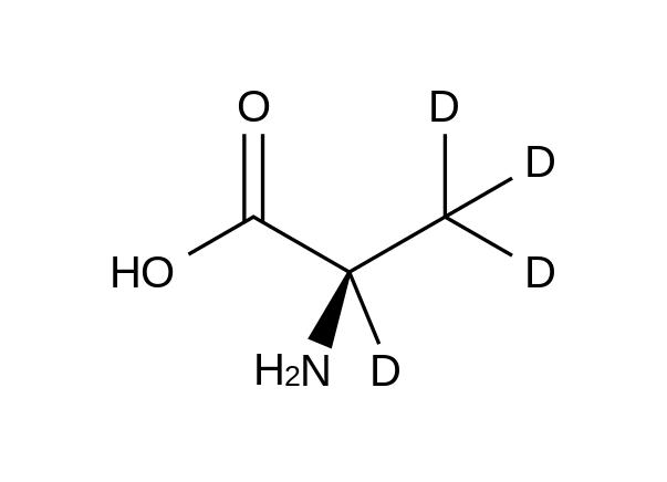 D-Alanine-2,3,3,3-d<sub>4</sub>
