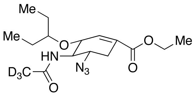 5-Azido Oseltamivir-d<sub>3</sub>