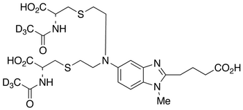 Bendamustine Bis-mercapturic Acid-d<sub>6</sub>