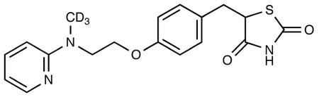 Rosiglitazone-d<sub>3</sub>