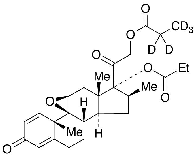 Betamethasone 9,11-Epoxide 17,21-Dipropionate-d<sub>5</sub>