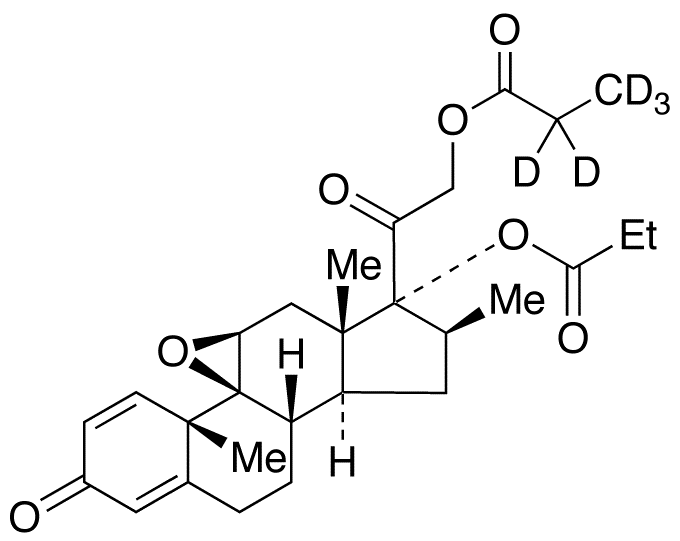 Betamethasone 9,11-Epoxide 17,21-Dipropionate-d<sub>5</sub>
