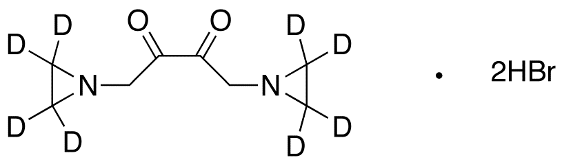 1,4-Bis(1-aziridinyl)-2,3-butanedione-d<sub>8</sub> Dihydrobromide