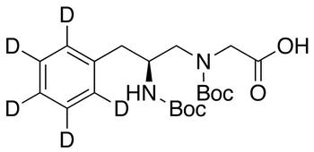 (2S)-N-(2-Boc-amino-3-phenyl-d<sub>5</sub>-propyl) Boc-glycine
