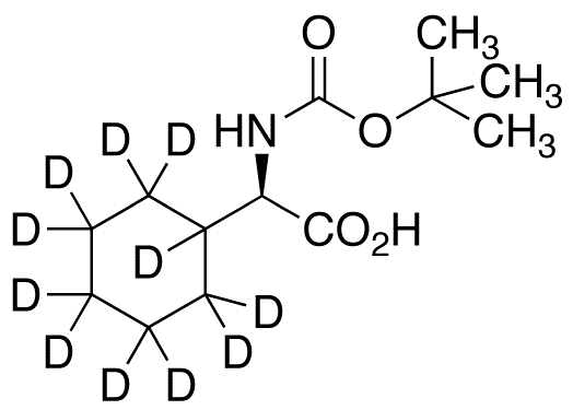 N-Boc-D-cyclohexylglycine-d<sub>11</sub>