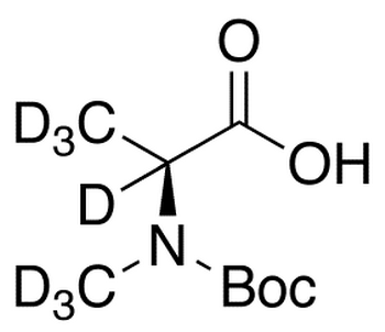 Boc-N-(methyl-d<sub>3</sub>)-L-alanine-d<sub>4</sub>