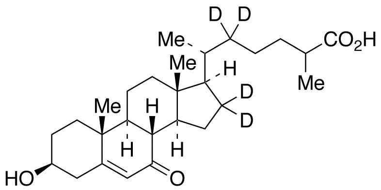 27-Carboxy-7-keto Cholesterol-d<sub>4</sub>