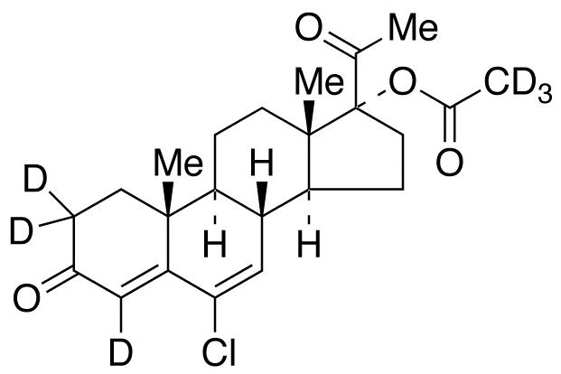 Chlormadinone-d<sub>6</sub> acetate