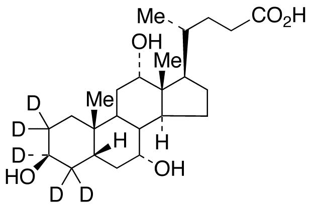 3β-Cholic Acid-d<sub>5</sub>