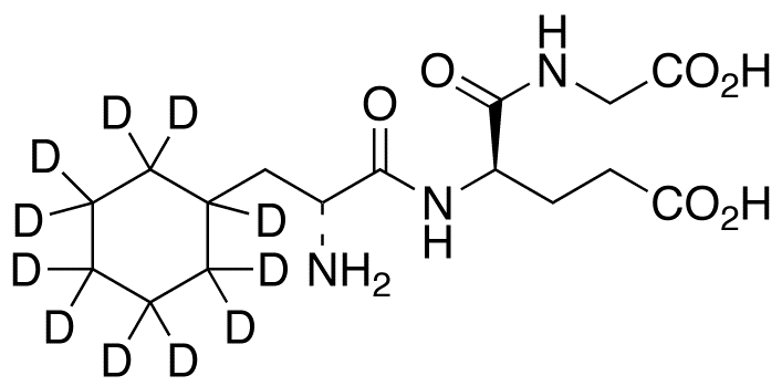 3-Cyclohexyl-D-alanyl-D-α-glutamylglycine-d<sub>11</sub>