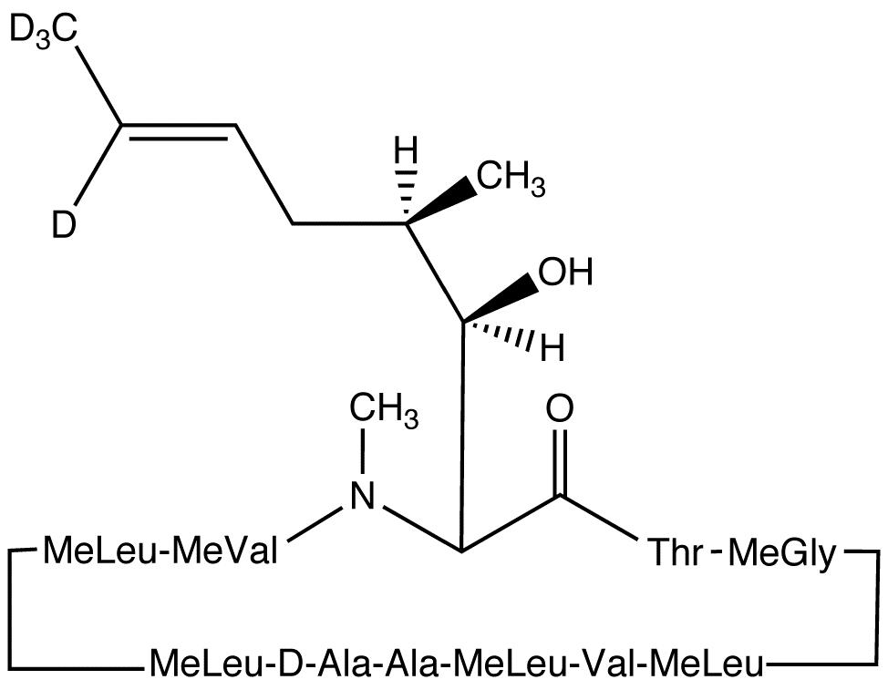 Cyclosporin C-d<sub>4</sub>