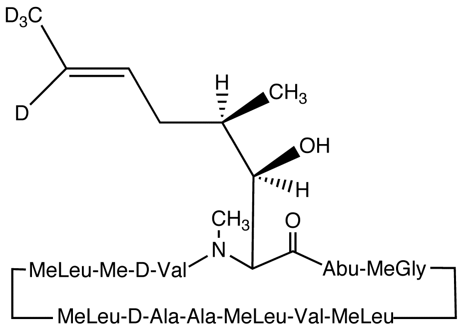 Cyclosporin H-d<sub>4</sub>