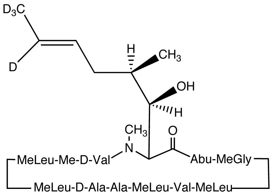 Cyclosporin H-d<sub>4</sub>