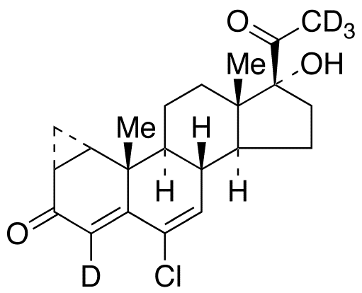 Cyproterone-d<sub>4</sub>