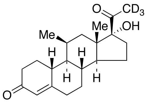 Deacetyl Norprogesterone-d<sub>3</sub>