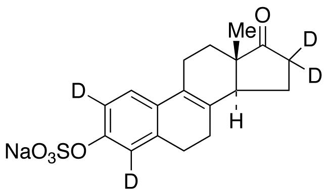 &#916;8,9-Dehydro Estrone-d<sub>4</sub> 3-Sulfate Sodium Salt