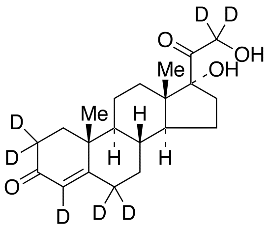 11-Deoxy cortisol-d<sub>7</sub>