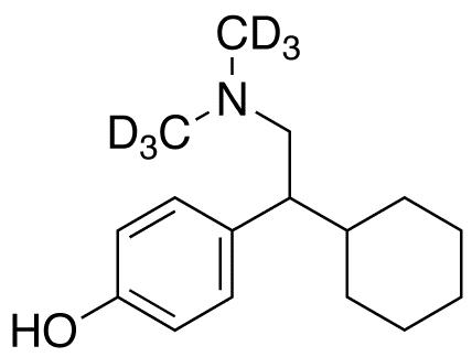 rac Deoxy-O-desmethyl Venlafaxine-d<sub>6</sub>