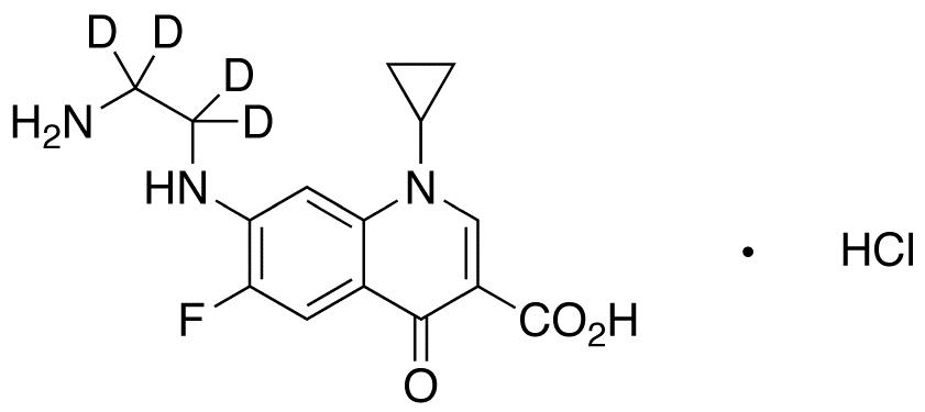 Desethylene Ciprofloxacin-d<sub>4</sub> HCl