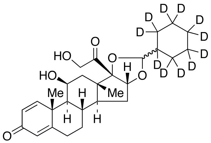 Desisobutyryl ciclesonide-d<sub>11</sub>