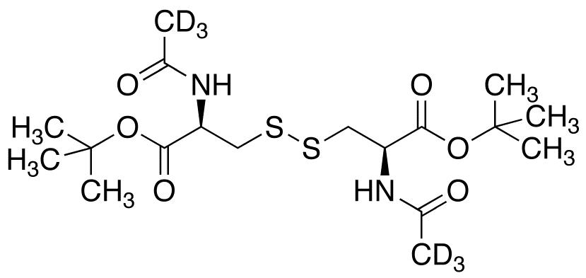 N,N&#146;-Diacetyl-L-cystine Bis(tert-Butyl) Diester-d<sub>6</sub>