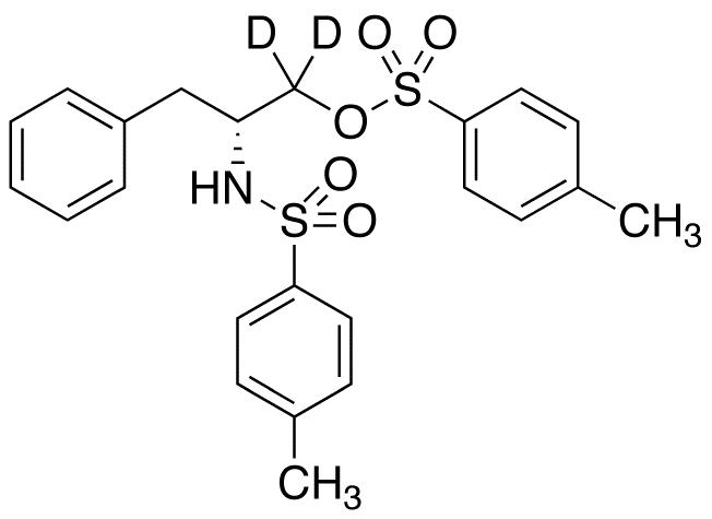 N,O-Ditosyl D-Phenylalaninol-d<sub>2</sub>