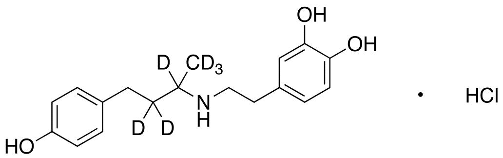 rac Dobutamine-d<sub>6</sub> HCl