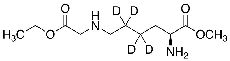 Nε-(Ethoxycarbonylmethyl)-L-lysine-d<sub>4</sub> Methyl Ester