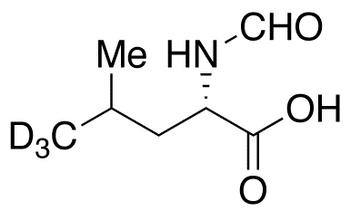 N-Formyl-L-leucine-d<sub>3</sub>