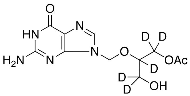 Ganciclovir Mono-O-acetate-d<sub>5</sub>