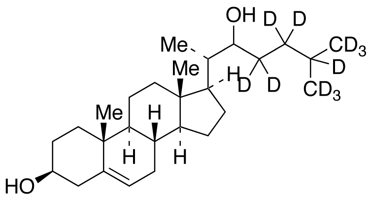 22-Hydroxycholesterol-d<sub>11</sub>(Mixture of Diastereomers)