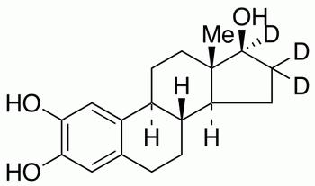 2-Hydroxy-17β-estradiol-16,16,17-d<sub>3</sub>