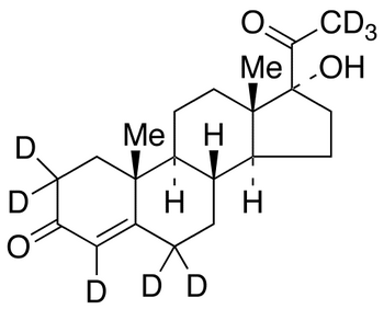 17α-Hydroxy Progesterone-d<sub>8</sub>