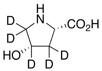 cis-4-Hydroxy-L-proline-d<sub>5</sub>