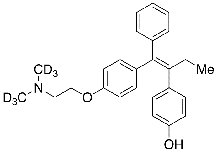 4'-Hydroxy Tamoxifen-d<sub>6</sub> (contains up to 10% E isomer)