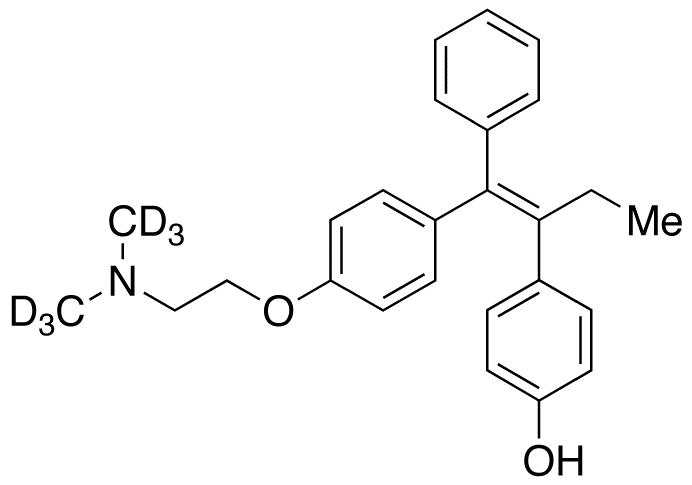 4'-Hydroxy Tamoxifen-d<sub>6</sub> (contains up to 10% E isomer)