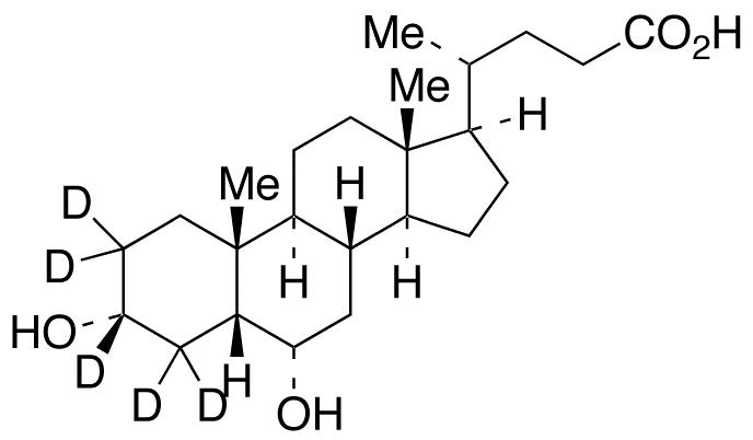 Hyodeoxycholic acid-2,2,3,4,4-d<sub>5</sub>