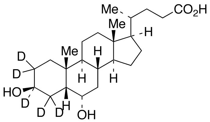 &#946;-Hyodeoxycholic Acid-d<sub>5</sub>