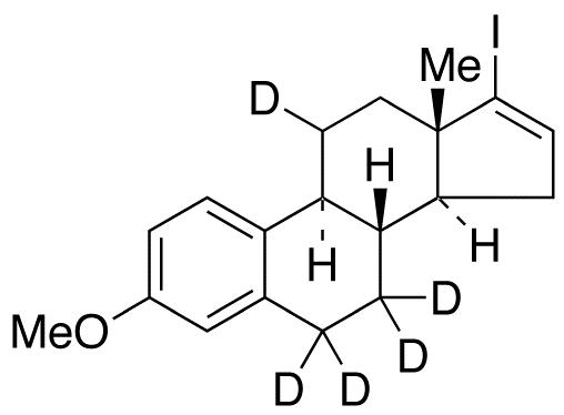 17-Iodo-3-O-methyl Estratetraenol-d<sub>5</sub>