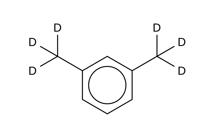 m-Xylene-&#945;,&#945;,&#945;,&#945;&#146;,&#945;&#146;,&#945;&#146;-d<sub>6</sub>