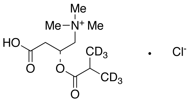 Isobutyryl L-carnitine-d<sub>6</sub> chloride
